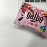 【ニアセお菓子研究部】今日のお菓子「galbo つぶ練り苺」@仕事中