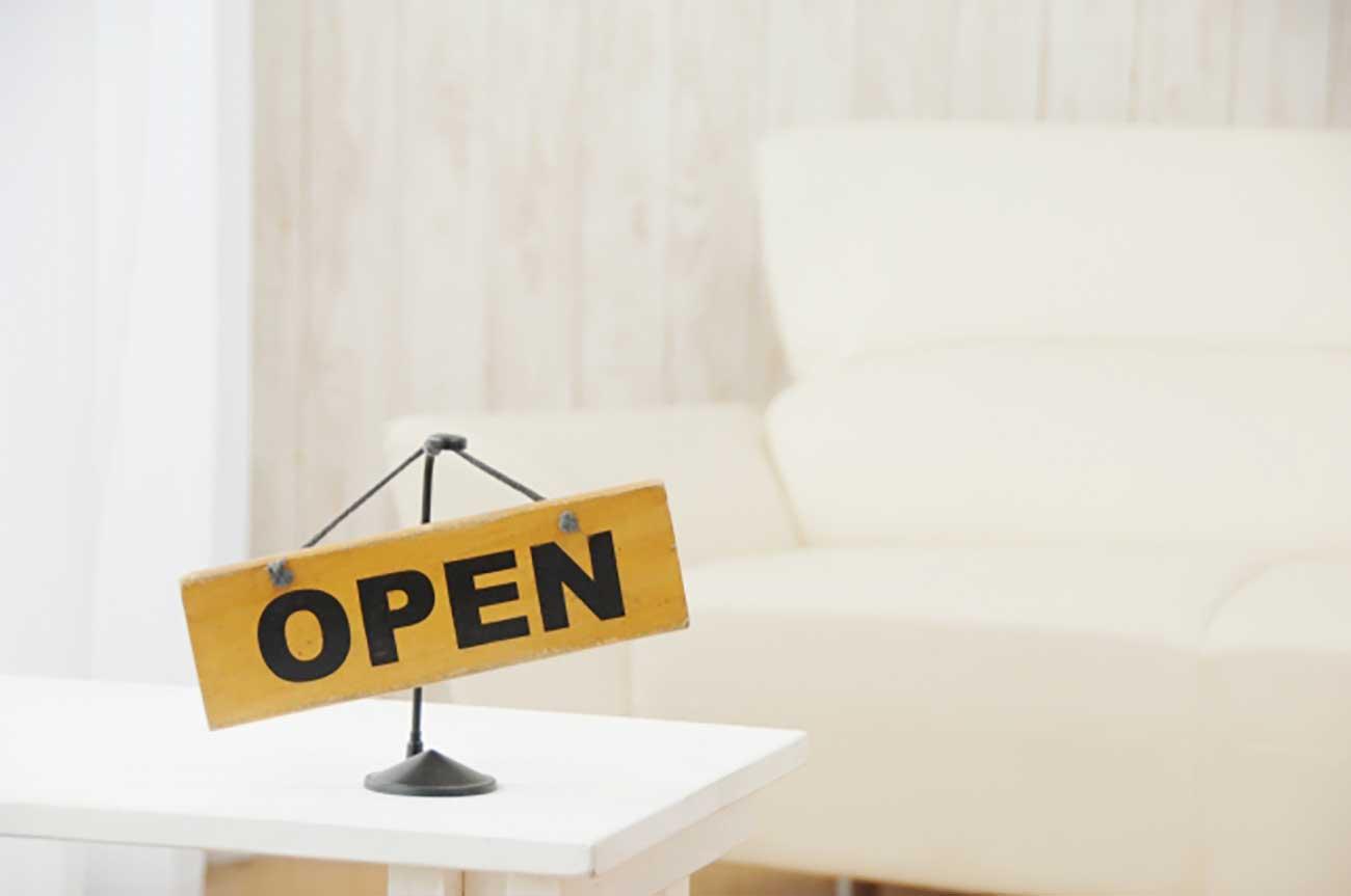 opens
