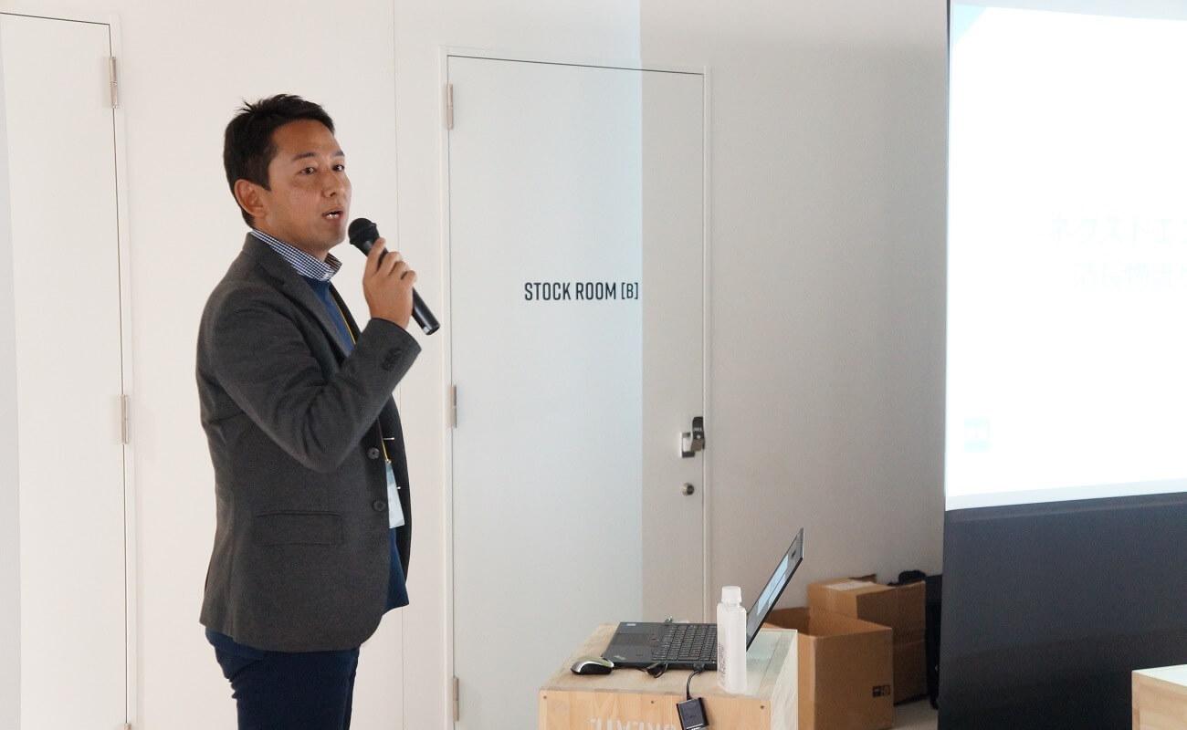 ▲株式会社清長 物流事業本部 第一事業部 次長の日朝健一さん