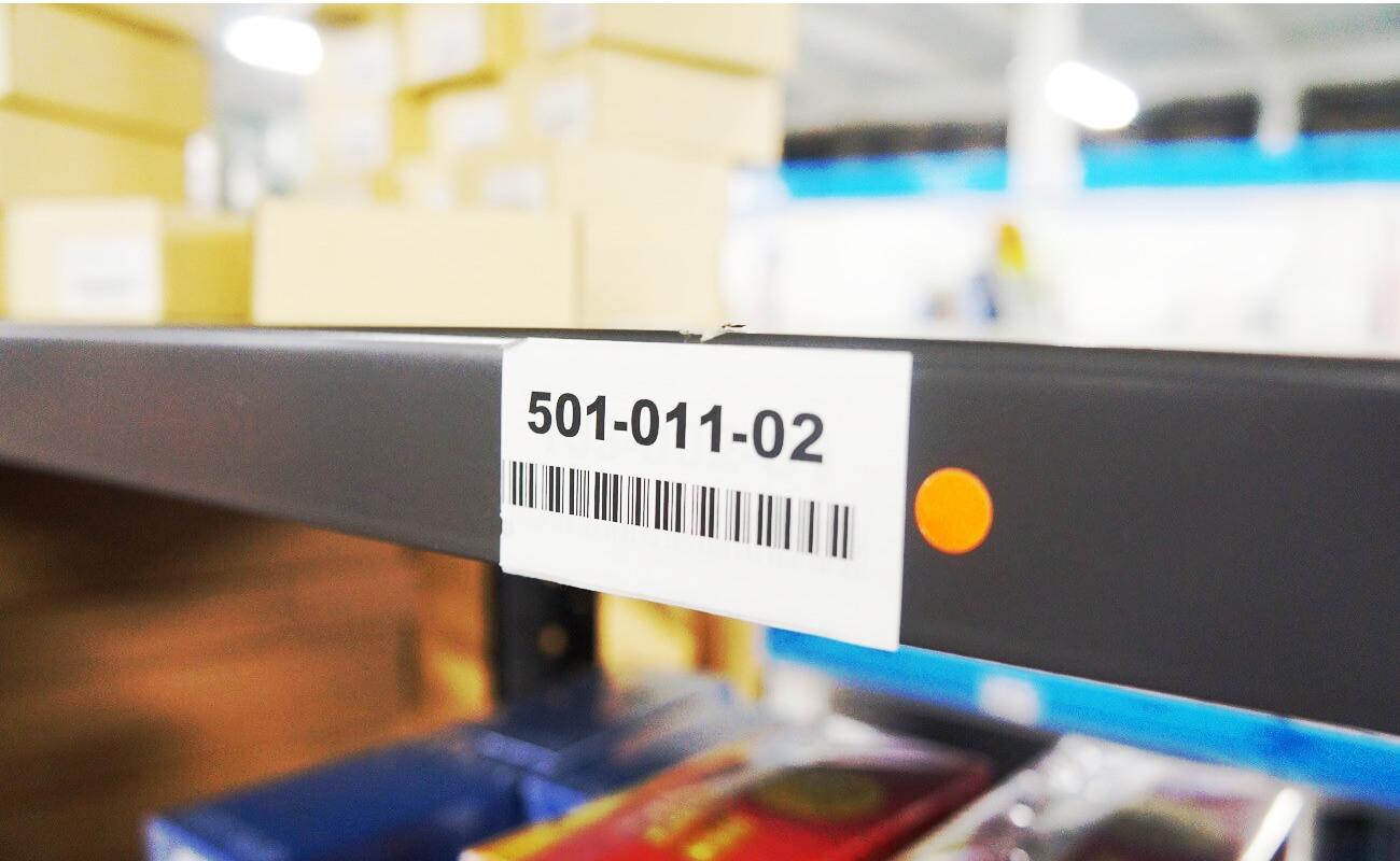 全てバーコード管理で、商品数が多くても問題なし